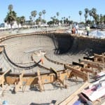 VENICE SKATEPARK IN PROGRESS