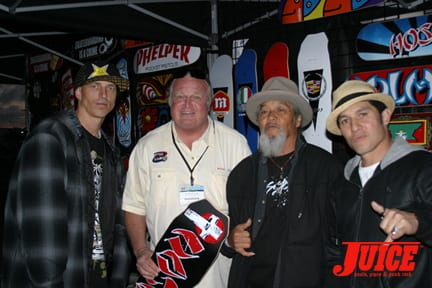 CHRIS GENTRY, ROB DYKMA, IVAN HOSOI, CHRISTIAN HOSOI