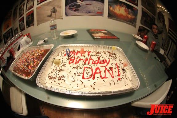 Dans Birthday Cake