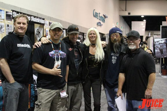 Walt Pourier, Jim Murf Murphy , Terri Craft, Jeff Ho and Dale Smith