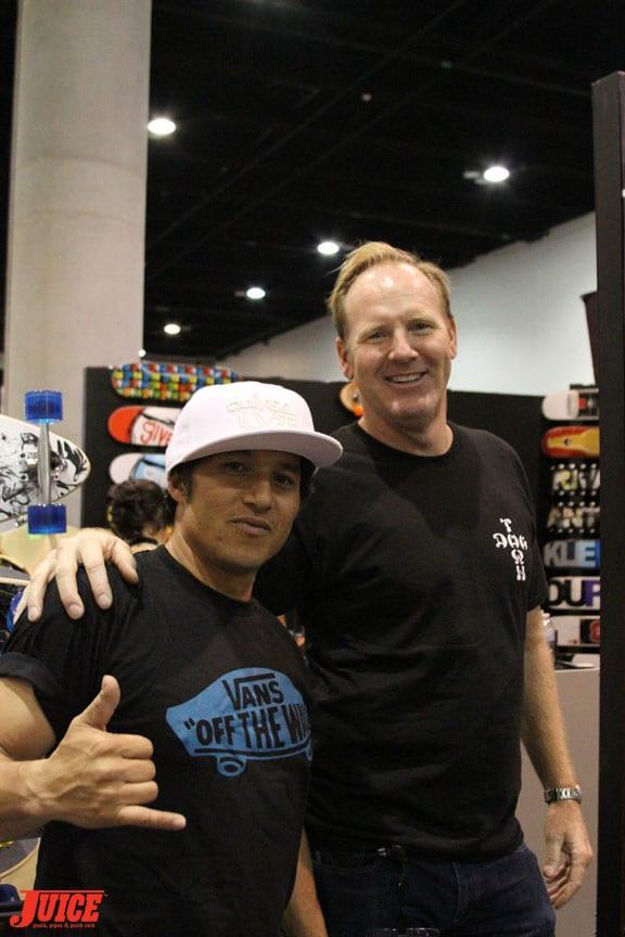 Christian Hosoi and Jim Muir