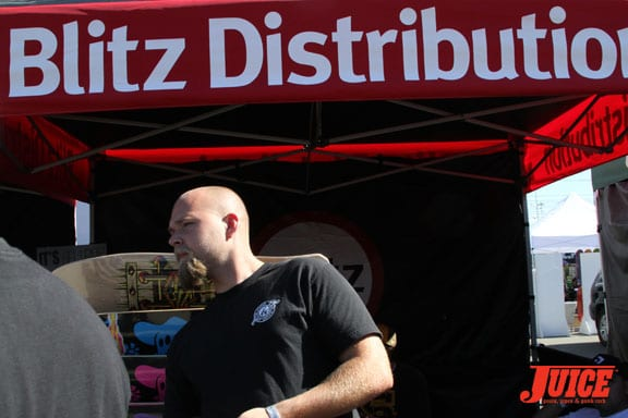 Ryan Weber from Blitz Distribution