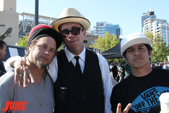 Joey Tershay, Jake Phelps and Christian Hosoi