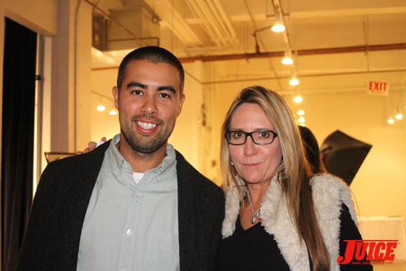 Eric Koston and Laura Thornhill