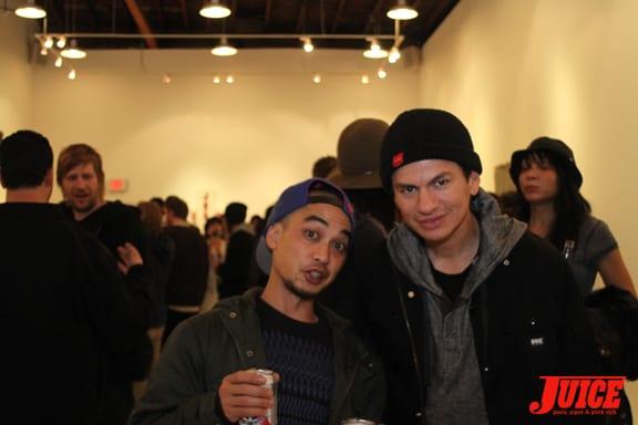 Daniel Castillo and Chico Brenes.