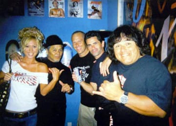 Jen Hosoi, Ivan Hosoi, Dave Hegstrom, Jay Smith, Rene Carrasco. Photo: Carrasco