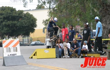 VSA skate contest. Photo: Dan Levy