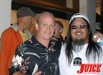 Bob Biniak and Jeff Ho. Photo: Dan Levy