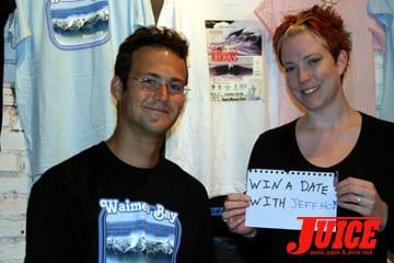 Date Jeff Ho. Photo: Dan Levy