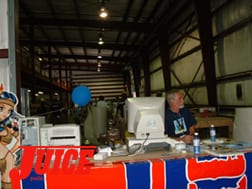Shipping dept at ESS. Photos: Terri Craft