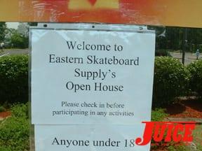 ESS welcome sign: Photo: Terri Craft