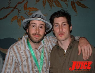 Skateboarders - Jason Lee and Steve Berra. Photo: Dan Levy