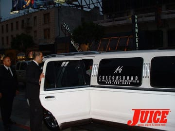 Limos were the standard transportation. Photo: Dan Levy