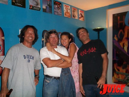 Masao, Paul Constantineau, Maria Morello and Donald Cassel. Photo: Dan Levy