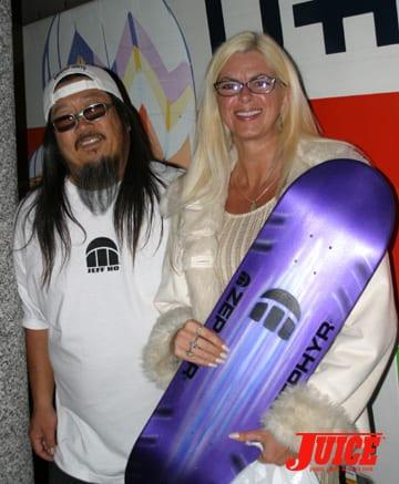 Terri and Jeff Ho. Photo: Dan Levy