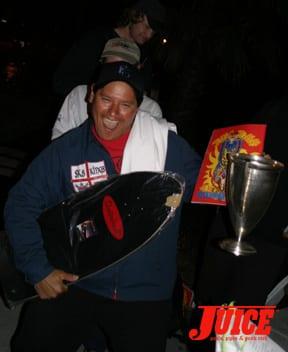 Trophy. Photo: Dan Levy