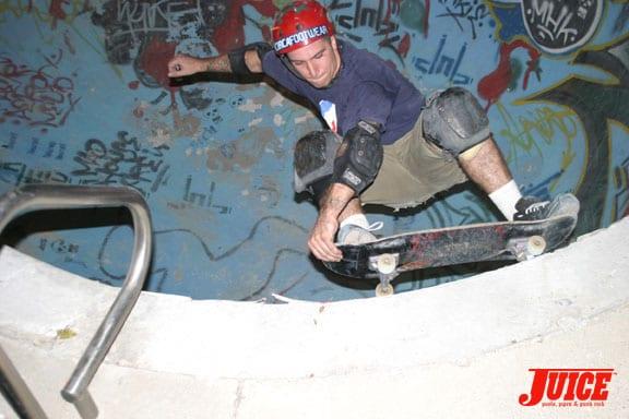 Carson Pool Session. Photo: Dan Levy
