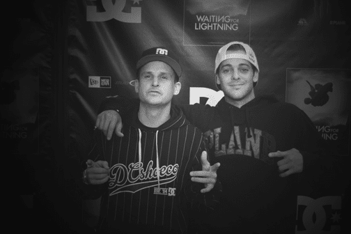 Rob Dyrdek and Ryan Sheckler. Photo: Lance Lemond