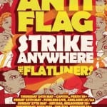 ANTI FLAG - STRIKE ANYWHERE - FLATLINERS AUSTRALIA TOUR