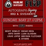 FLIP DEMO AND SIGNING AT MAINLINE SKATESHOP