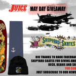 SHIPYARD SKATES DECK & SHIP GRIP GIVEAWAY