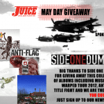 SIDE ONE DUMMY WARPED TOUR COMP GIVEAWAY