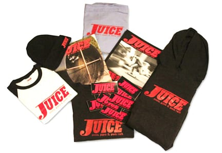 Juice Magazine One Hundred and Fifty Dollar Gift Pack