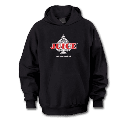 Juice Magazine Ace of Spades Pull Over Hoodie