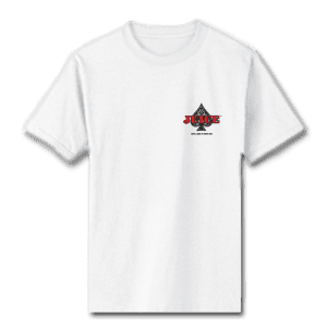 Juice Ace of Spades Special Ops White Short Sleeve Tshirt