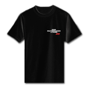 Juice Keep Skateboarding A Crime Special Ops Black Short Sleeve Tshirt