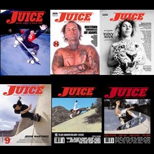 Juice Magazine Dogtown Chronicles
