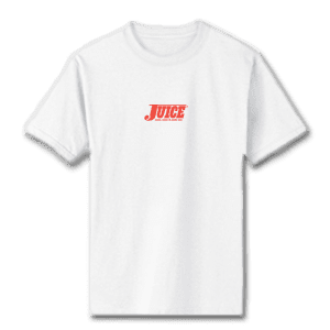 Juice Pools Pipes and Punk Rock Mini Logo White Short Sleeve Tshirt