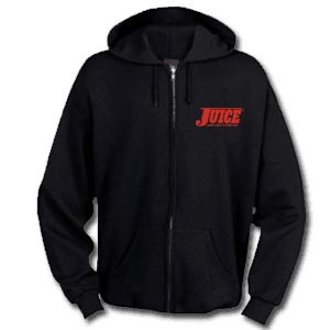 Juice Pools Pipes and Punk Rock Zip Up Hoodie