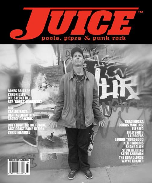 Juice Magazine 69 cover Craig Stecyk III