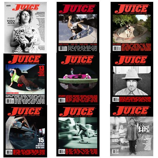 Juice Magazine Alva Skate Team Collection