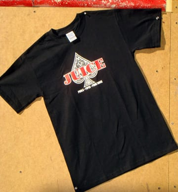 Juice Ace of Spades T-Shirt
