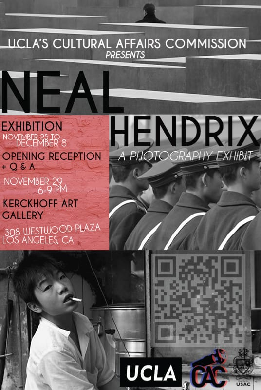 NEAL HENDRIX PHOTO SHOW