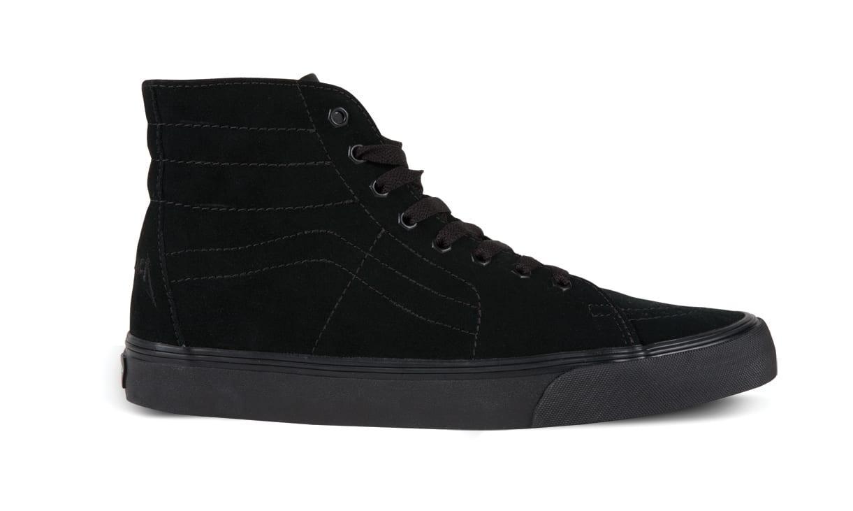 3a4ca020dd The Vans x Metallica Signature Shoes  Sk8HiDeconMetallicaJamesHetfield