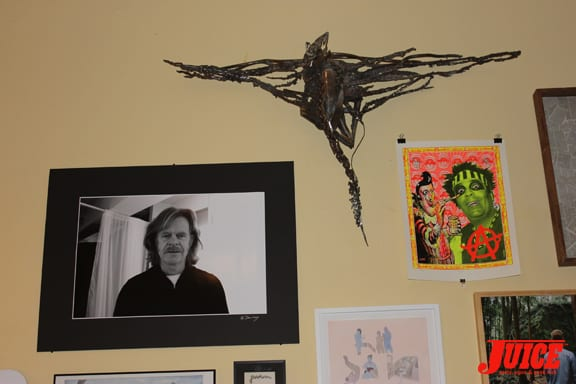 PHOTO OF WILLIAM H. MACY BY DAN LEVY AND JASON JESSEE METAL ART. PHOTO: VANESSA DAVEY