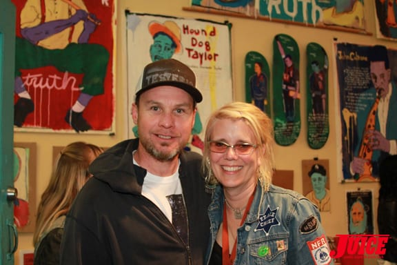 JEFF AMENT AND LIBBY KNUDSEN. PHOTO © DAN LEVY