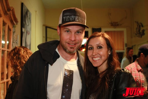 JEFF AMENT AND VANESSA DAVEY. PHOTO © DAN LEVY