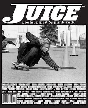 Juice Magazine 73 cover Jay Adams