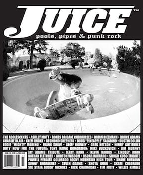 Juice Magazine 73 cover Shogo Kubo