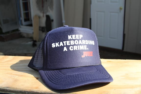 Juice American Crime Trucker Hat
