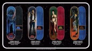 Santa Cruz and Star Wars
