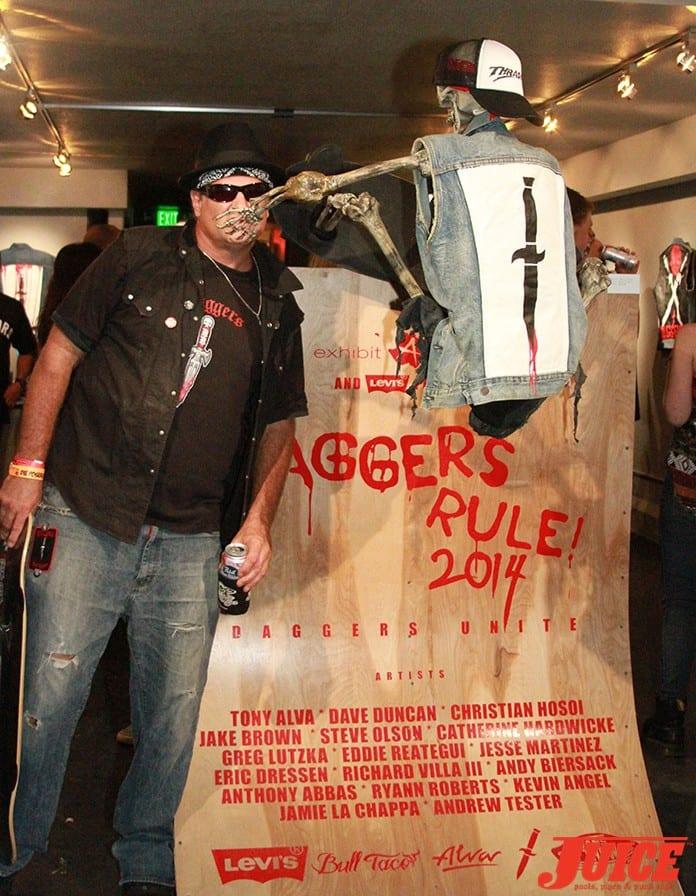 Daggers Rule! 2014. Photo by Dan Levy