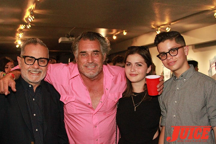 Sam, Steve Olson, Ethan and Claire. Daggers Rule! 2014. Photo by Dan Levy