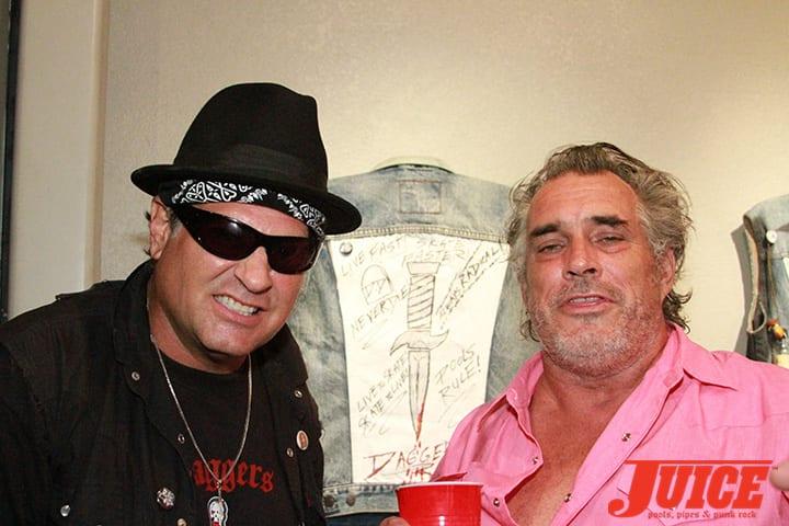 Dave Duncan and Steve Olson. O.G. Daggers! Daggers Rule! 2014. Photo by Dan Levy