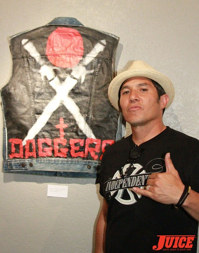 Christian Hosoi. Daggers Rule! 2014. Photo by Dan Levy