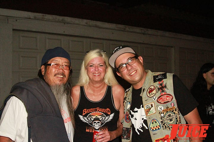 Jeff Ho, Terri Craft and Cholo. Daggers Rule! 2014. Photo by Dan Levy
